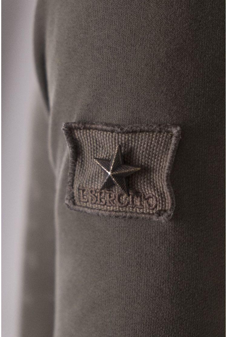 Abbigliamento Esercito Italiano   Felpa Uomo W0F174