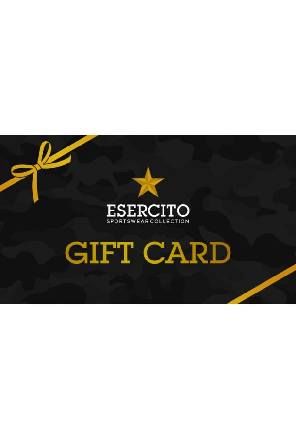 Giftcard Esercito